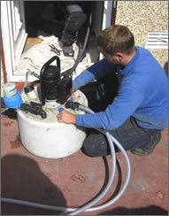 Powerflushing central heating systems
